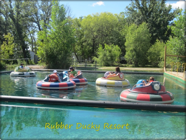 Campground Amenities - Bumper Boats
