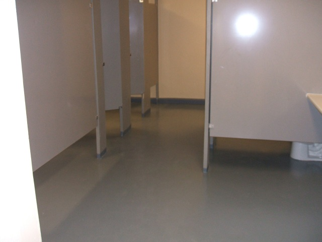 The new floor
