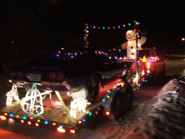 Santa Parade Float