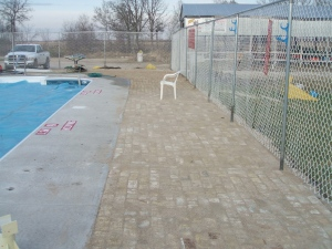 Pool Area after