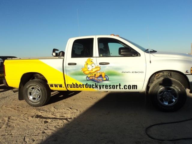 Rubber Ducky Truck